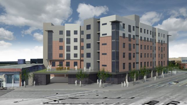 Plans submitted to the Colorado Housing and Finance Authority show a low-income housing development on Broadway.
