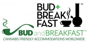 Bud+Breakfast (top) and Taste of Travel website logos