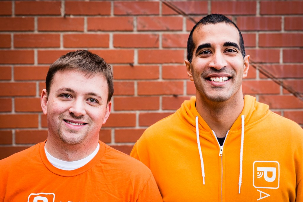 Ryan Sullivan and Rishi Malik are raking in more investments for their parking startup. Photos courtesy of Parkifi.