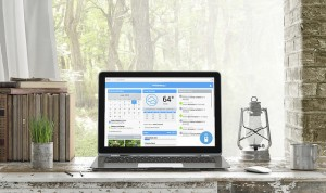 The Rachio program connects with the home sprinkler system to set watering schedules and monitor weather.