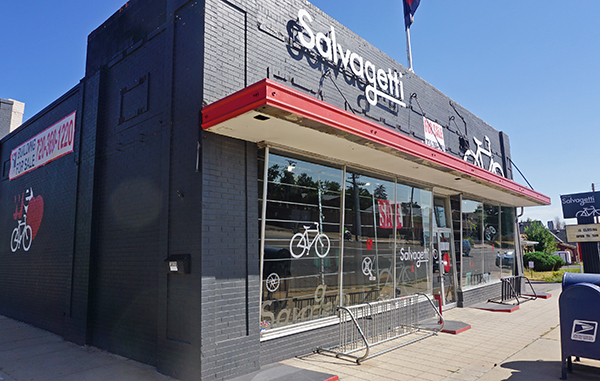 Salvagetti bike store is closing down and selling its building. Photos by Burl Rolett.