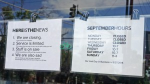Salvagetti will operate on shortened hours until its closure later this month.