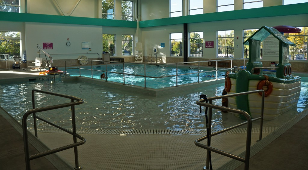 A local YMCA is renovating one pool and adding a new one as part of a large-scale renovation. Photos by Amy DiPierro.