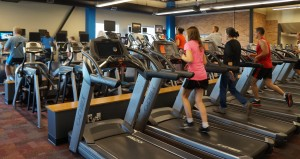 The renovation also includes a new cardio room.