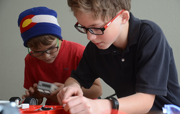 Classes in coding and robotics will begin early next year at a new program. Photos courtesy of Silicon STEM Academy.
