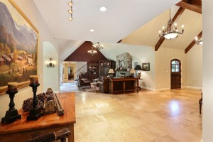 The home has about 5,000 square feet of finished space.