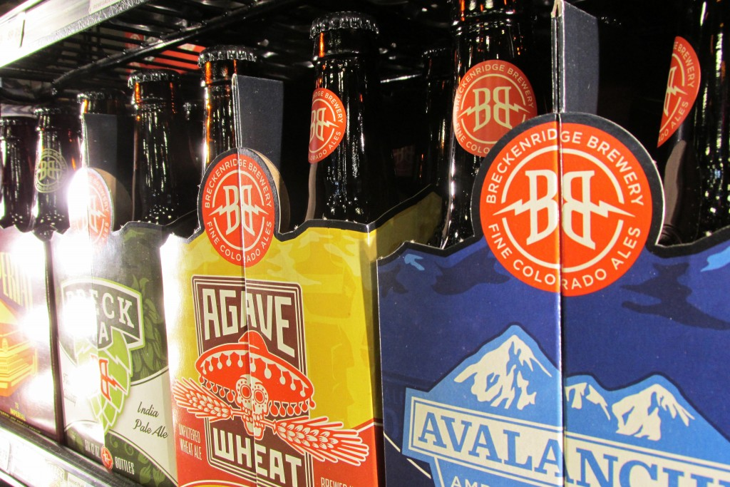 Anhauser-Busch is adding Breckenridge Brewery to its mixed pack of craft brewers. Photo by Aaron Kremer.