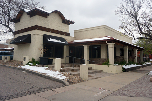 FirstBank has sold its former bank branch at . Photo by Burl Rolett.