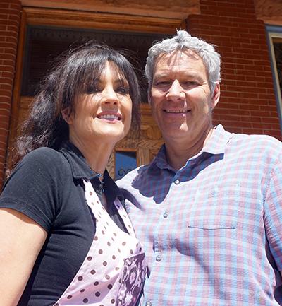 Joel and Elaine Bryant. Photos by Burl Rolett.