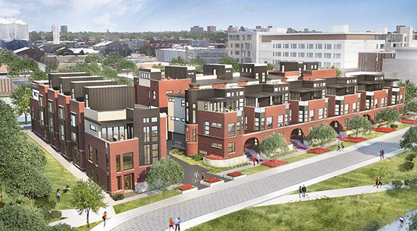 Rendering courtesy Kentwood City Properties.
