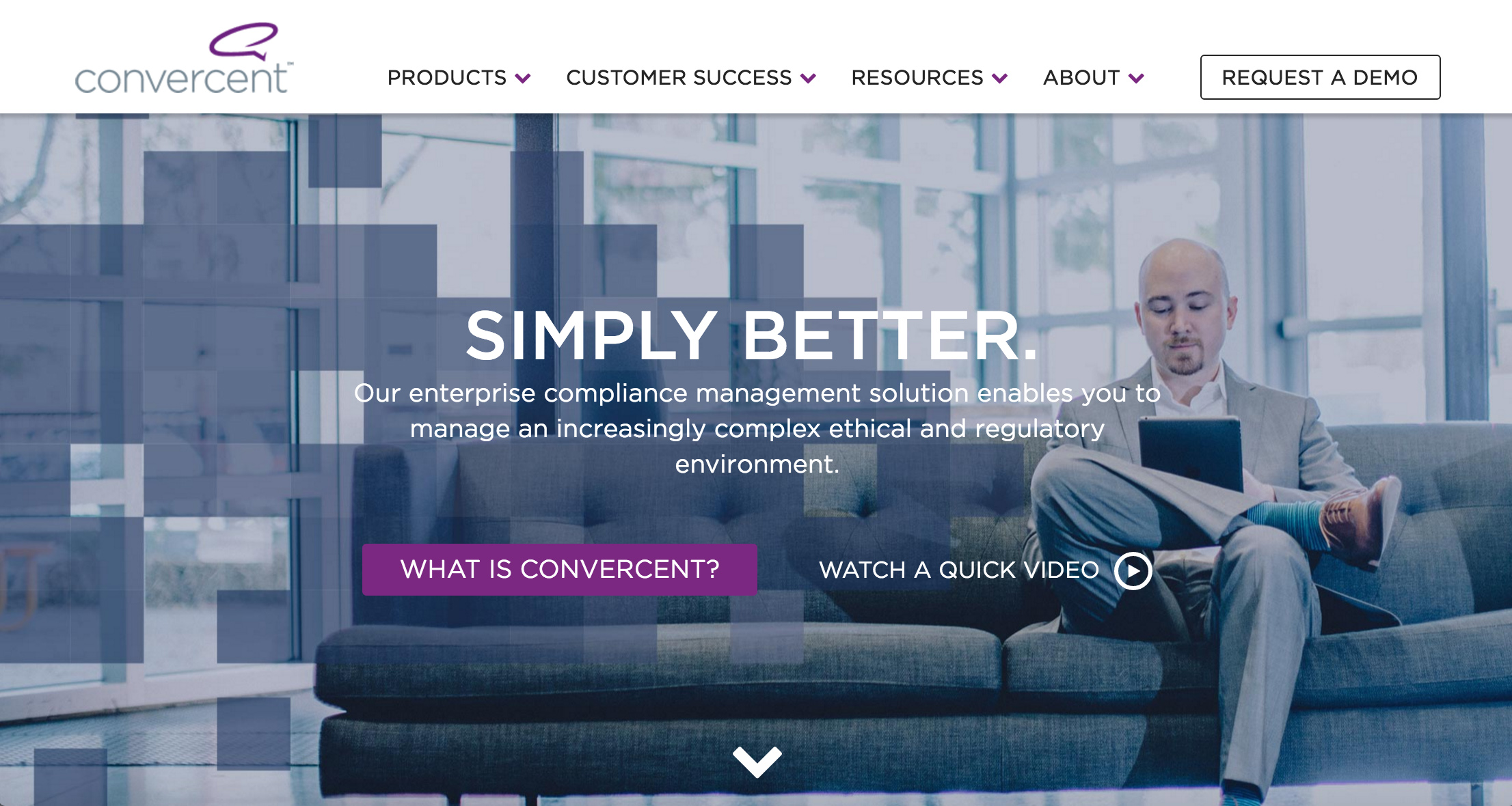 Convercent website