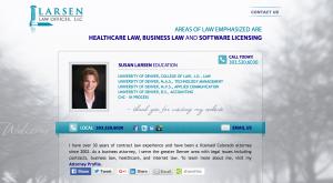 Larsen website