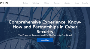 Optiv website