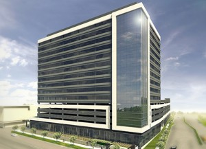A rendering of One Bellevue Station. (Courtesy Cushman and Wakefield)