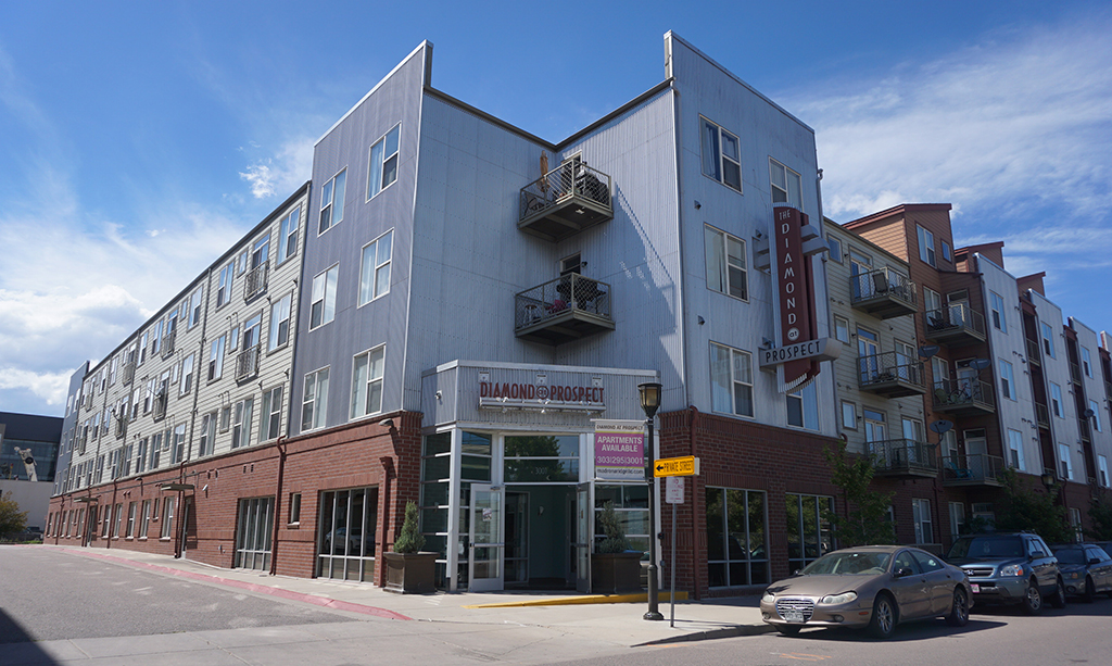 The Diamond and Prospect apartment buildings were bought for $2 million. (Burl Rolett)