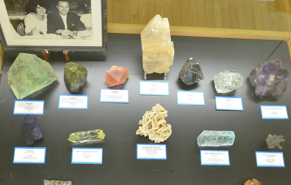 The Geology Museum usually only displays less than two percent of the 800-piece collection. (Courtesy Colorado School of Mines)