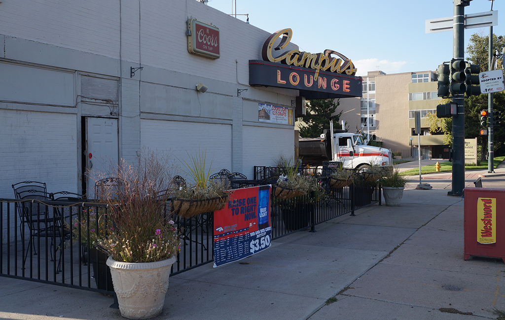 Campus Lounge at Exposition Avenue and University Boulevard has a new owner. (Amy DiPierro)