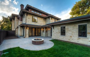 The home was completed in September, and bought for $3.3 million on Tuesday.