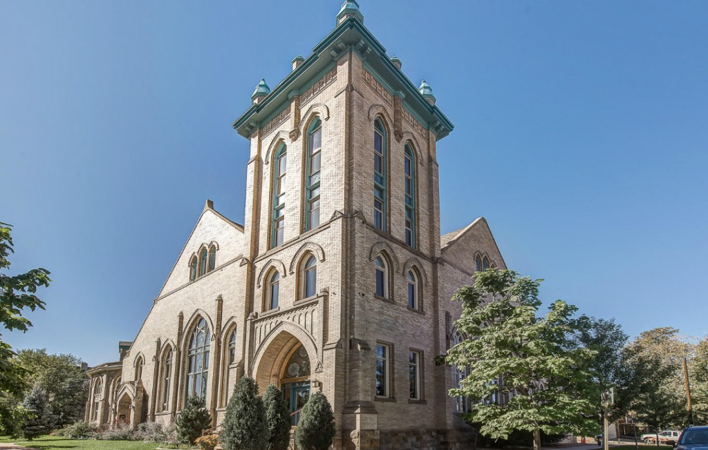 The building was first a Presbyterian and later a Baptist church starting in 1906. (Courtesy Kentwood Cherry Creek)