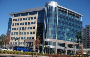 Pauls Corp. built the FirstBank office building towards the end of First Avenue in Cherry Creek. (Burl Rolett)