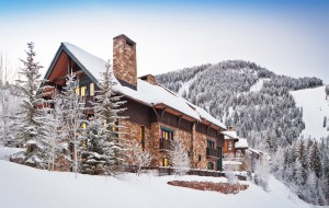 This 5,400-square-foot Quintess destination in Aspen has four beds and five baths, including a guest house and access to the Aspen Highlands Village.