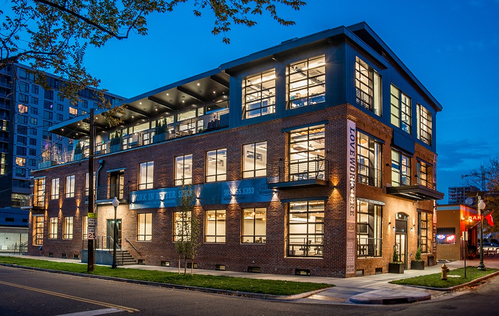 Shift Workspaces opened a new 22,000-square-foot shared office space last week at 10th Avenue and Bannock Street.