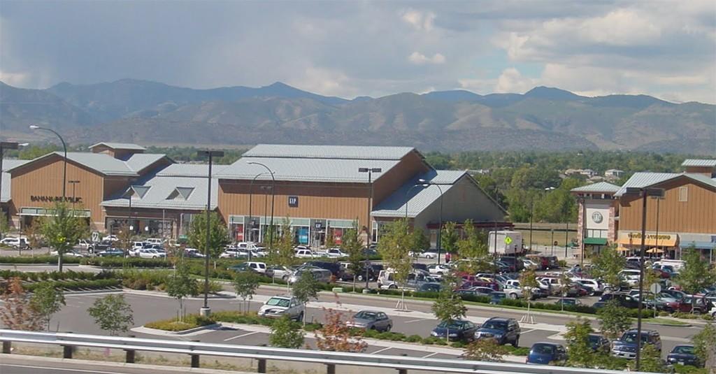 Aspen Grove on South Santa Fe Drive is anchored by Williams Sonoma, Ulta, Pier 1 and Alamo Drafthouse Cinema. (Google Maps)
