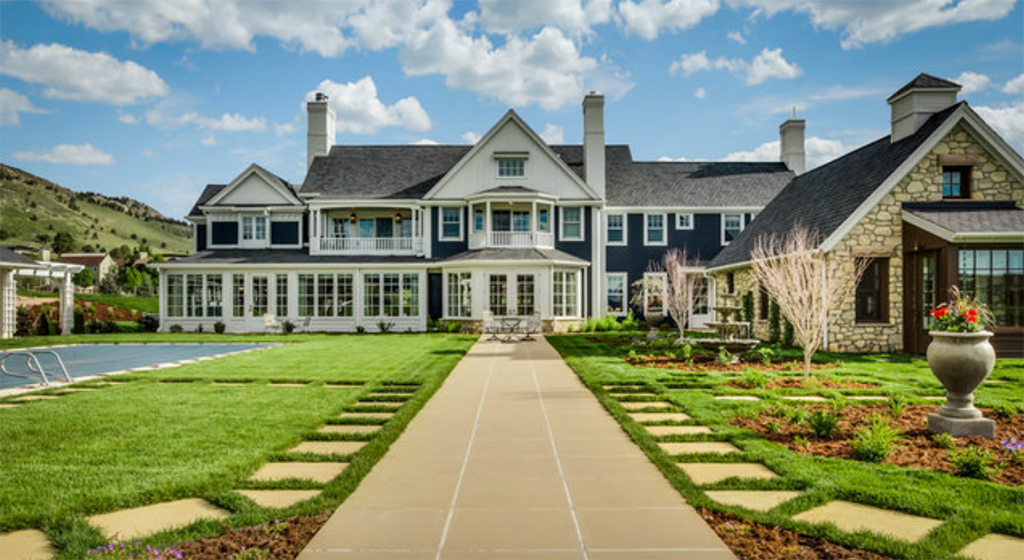 The 9,000-square-foot home at 415 Lee Hill Drive in Boulder. (Rob Larsen Photography)