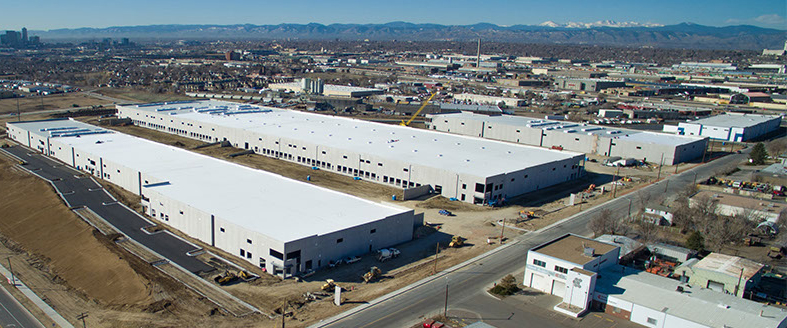 Inline Distributing Co. has signed on to an under-construction warehouse at the Crossroads Commerce Park.