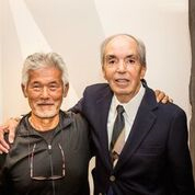 Kiyoshi Murata, left, and Robert Outland. (Courtesy MOA)