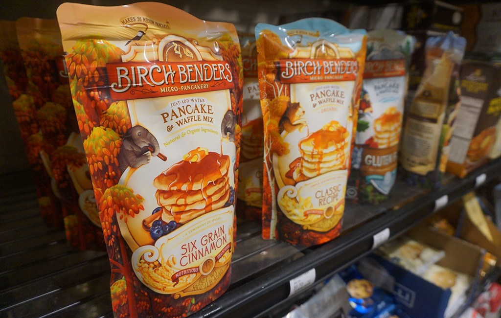 Birch Benders pancake mix will soon be sold in Whole Foods. (Burl Rolett)