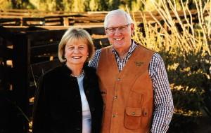 Sharon and Lanny Martin.