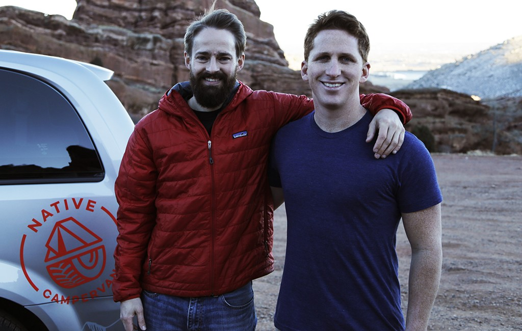 Dillon Hansen and Jon Moran launched Native Campervans in September 2015. (Courtesy Native Campervans)