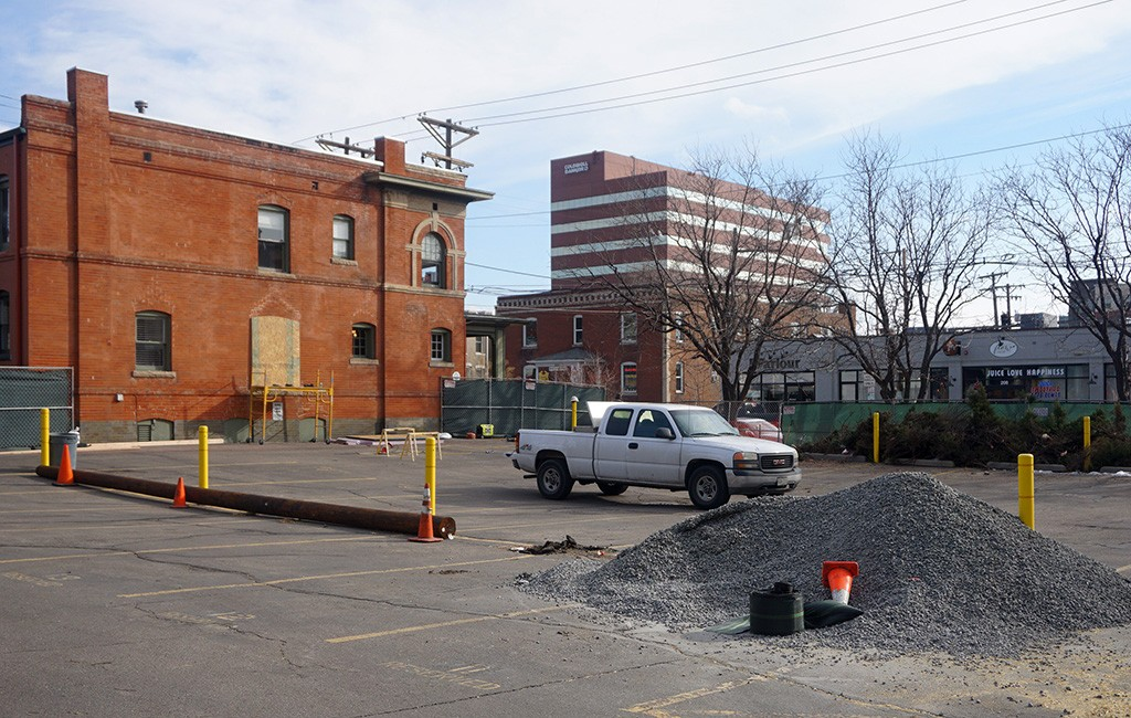 Construction will soon begin at the site, on the corner of Seventh and Sherman. (Burl Rolett)