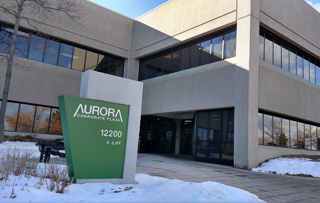 The 219,000-square-foot, three-building Aurora Corporate Plaza was sold in the $34 million deal. (Burl Rolett)