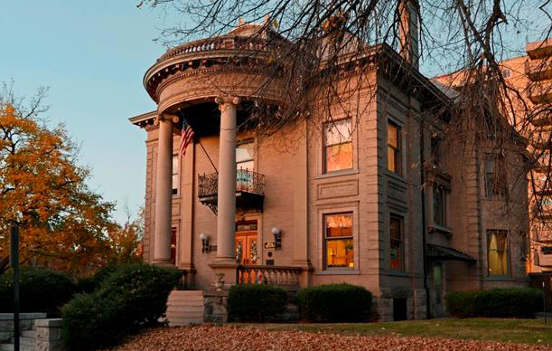 The mansion at 709 Clarkson St. was listed for $3.5 million. (Courtesy Distinctive Properties)