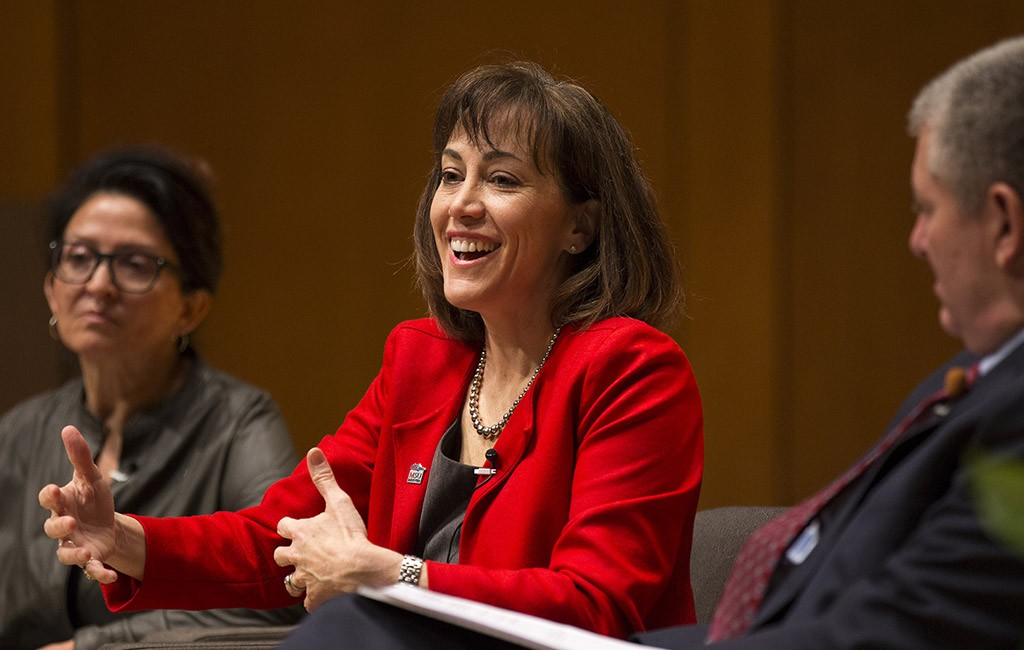 Janine Davidson visited MSU Denver on Feb. 13. She will become the president in July. (Courtesy MSU Denver)