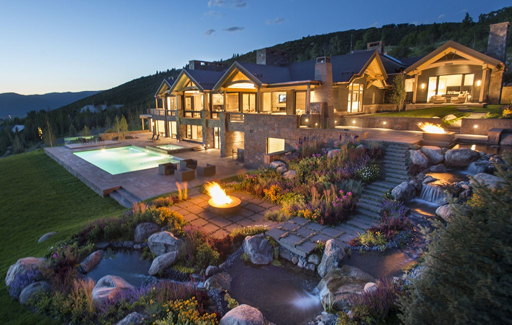 The 13,700-square-foot home, less than five miles northwest of downtown Aspen, sold Feb. 1. (Courtesy Bowden Properties)