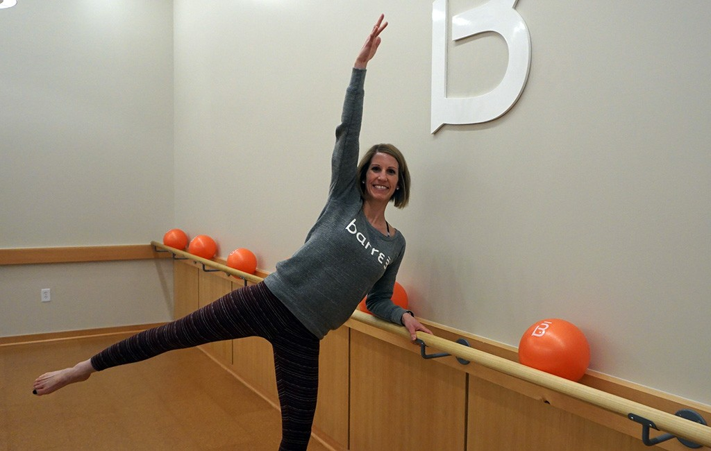 Katie Heaps is the owner of Barre3 at Bellview Station.