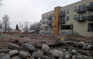 Seventeen tonwhomes are planned for the site at 3352 W. 38th Ave. (Burl Rolett)