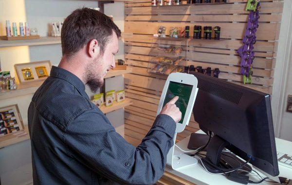 baker check-in tablet