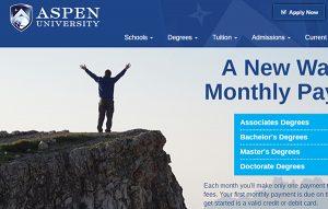 aspen university website