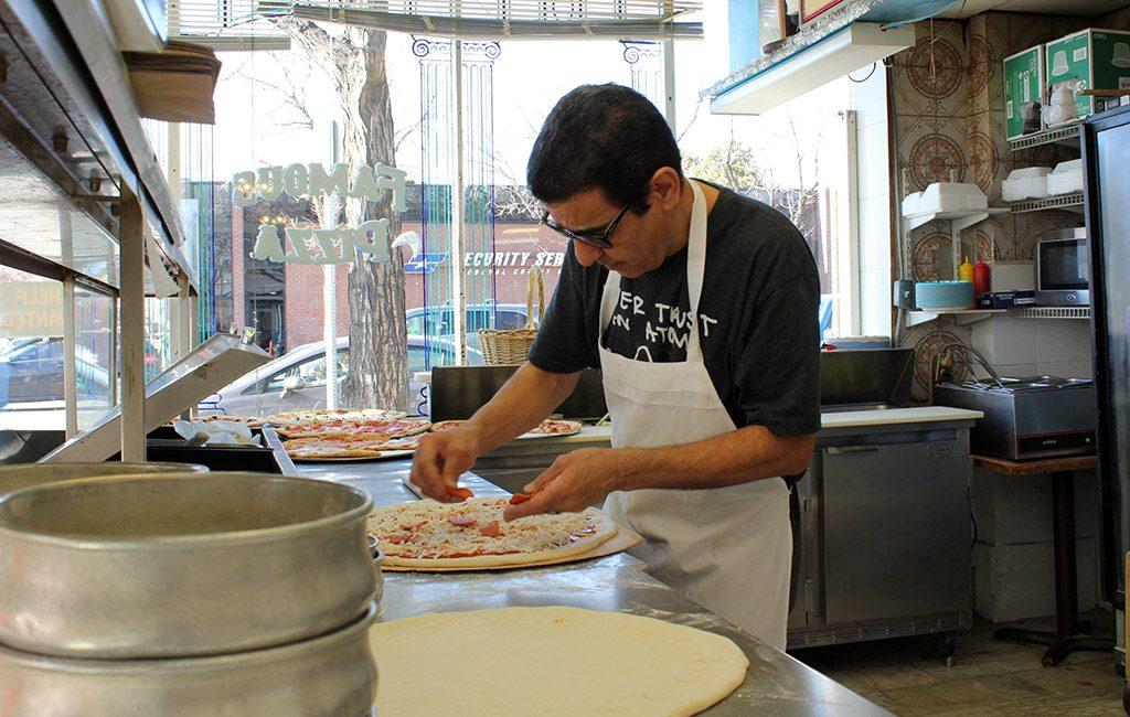 famous pizza kitchen