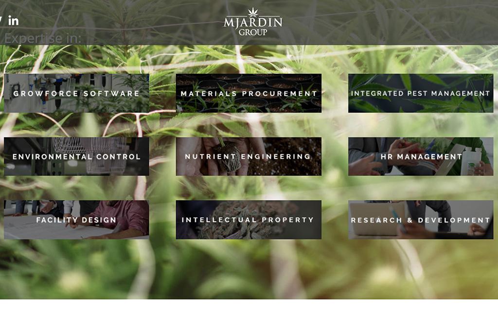 MJardin website