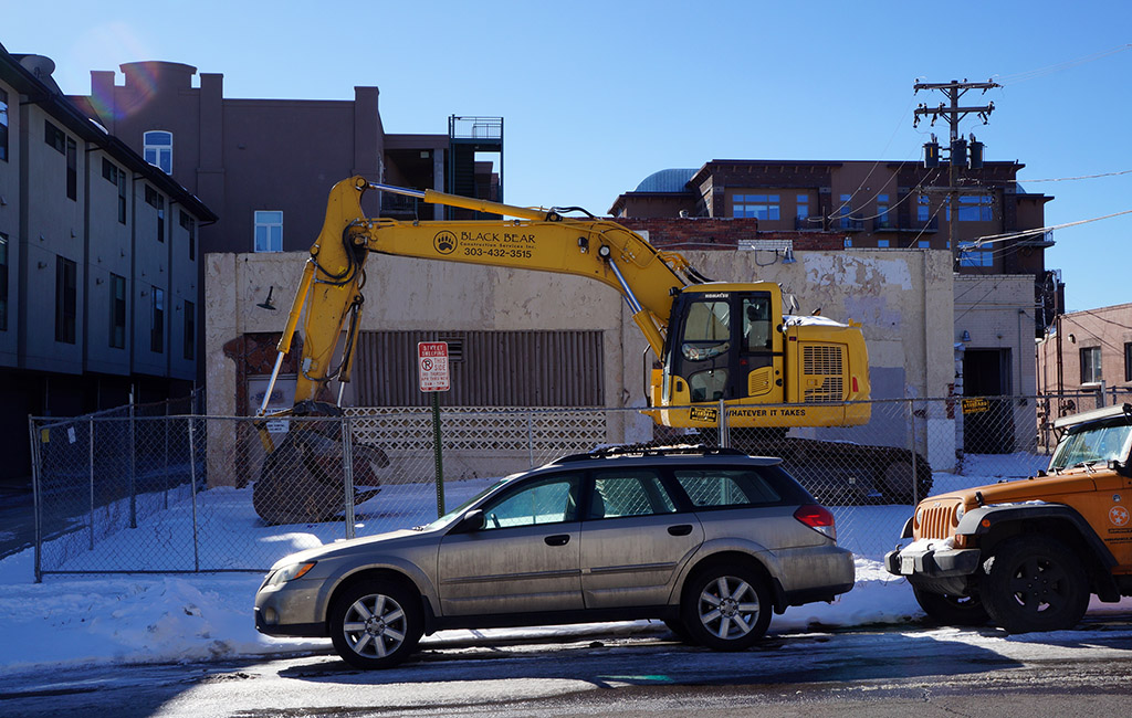 ivy construction site