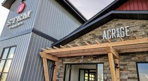 acreage entrance