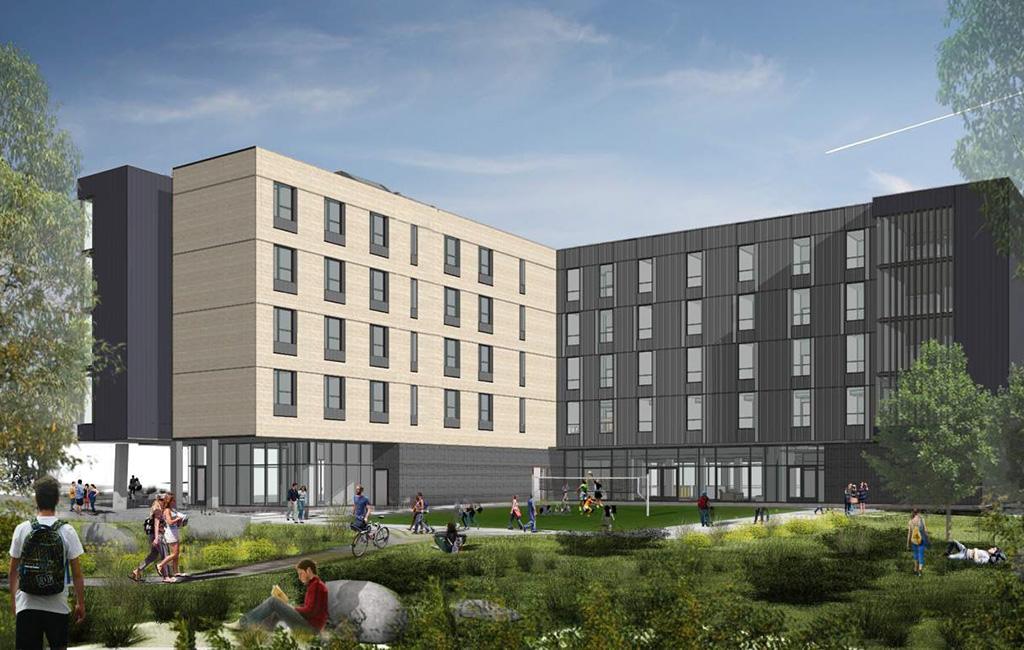 school of mines dorm rendering
