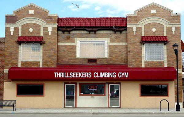 thrillseekers entrance