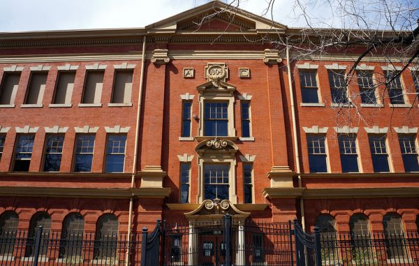 evans school entrance