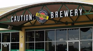 caution brewery